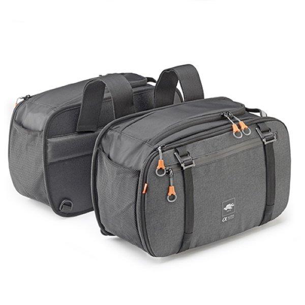 Alpha Expand Side Bags 16-25L Dark Grey Panniers