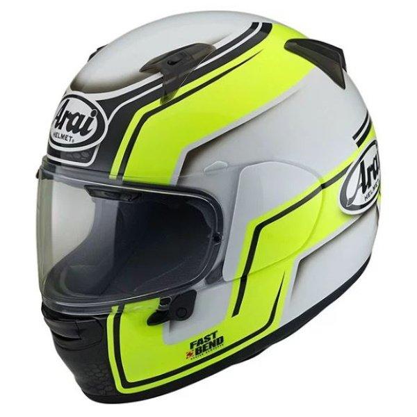 Profile V Bend Helmet Yellow