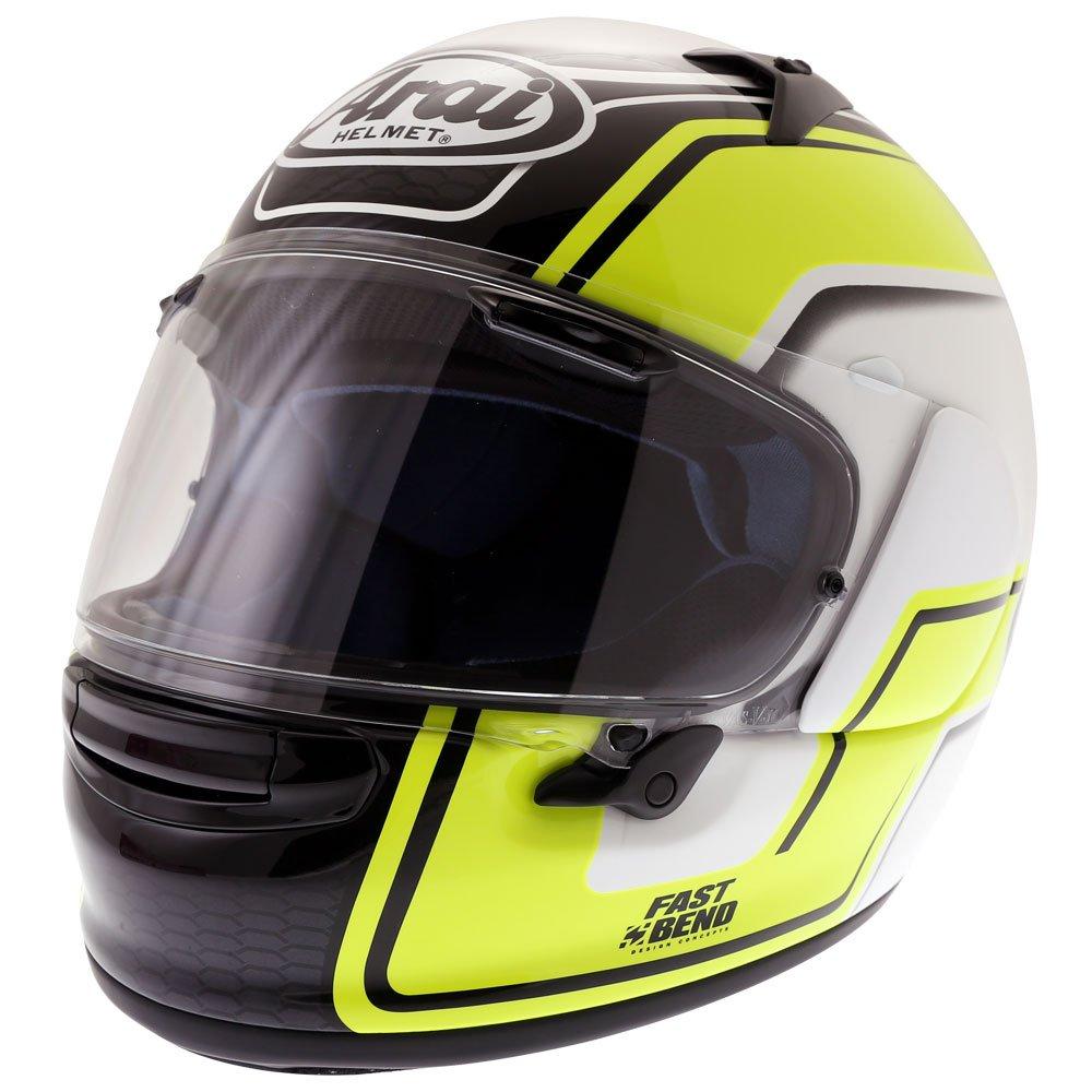 Arai Profile V Bend Helmet Yellow Size: M