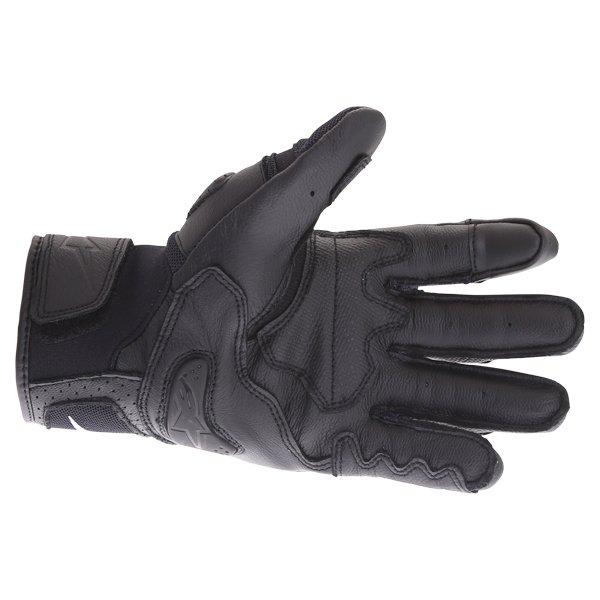 Alpinestars SP X Air Carbon V2 Black Motorcycle Gloves Palm