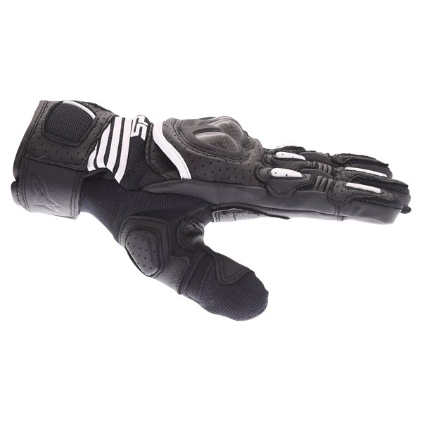 Alpinestars SP X Air Carbon V2 Black Motorcycle Gloves Thumb Side
