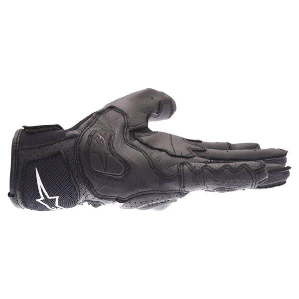 Alpinestars SP X Air Carbon V2 Black Motorcycle Gloves Little Finger Side