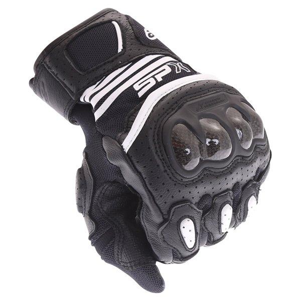 Alpinestars SP X Air Carbon V2 Black Motorcycle Gloves Knuckle