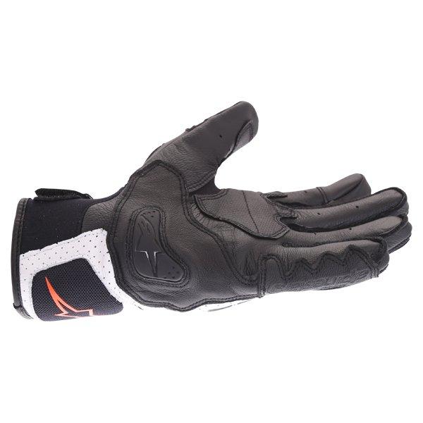 Alpinestars SP X Air Carbon V2 Black White Red Fluo Motorcycle Gloves Little Finger Side