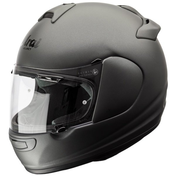 Arai Debut Gun Metallic Frost Full Face Motorcycle Helmet Left Side