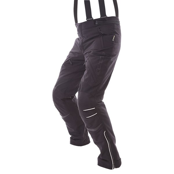 Alpinestars New Land Mens Black Goretex Waterproof Textile Motorcycle Pants Riding Position