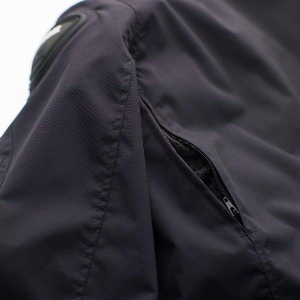 Blauer Maverik Blue Textile Motorcycle Jacket Rear Vent