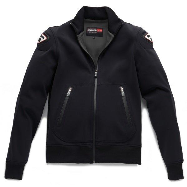 Blauer Easy Man 1 Asphalt Black Textile Motorcycle Jacket Front