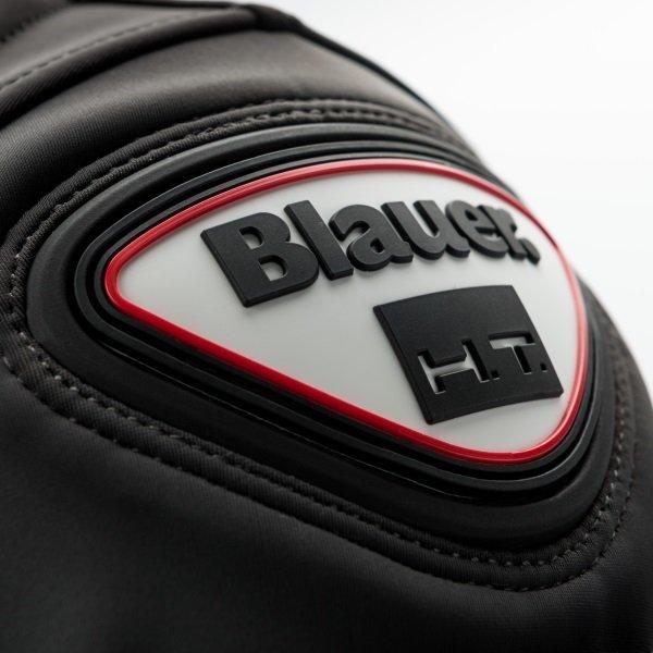 Blauer Easy Man 1 Asphalt Black Textile Motorcycle Jacket Shoulder