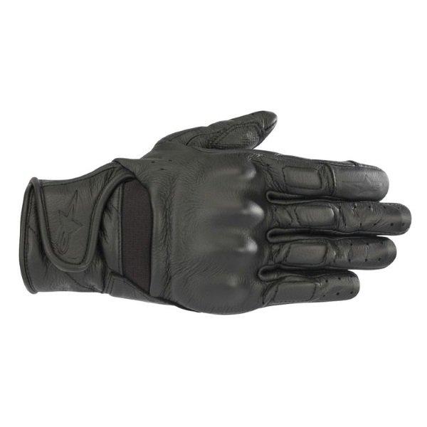 Alpinestars Vika V2 Womens Black Motorcycle Gloves Back