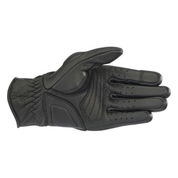 Alpinestars Vika V2 Womens Black Motorcycle Gloves Palm