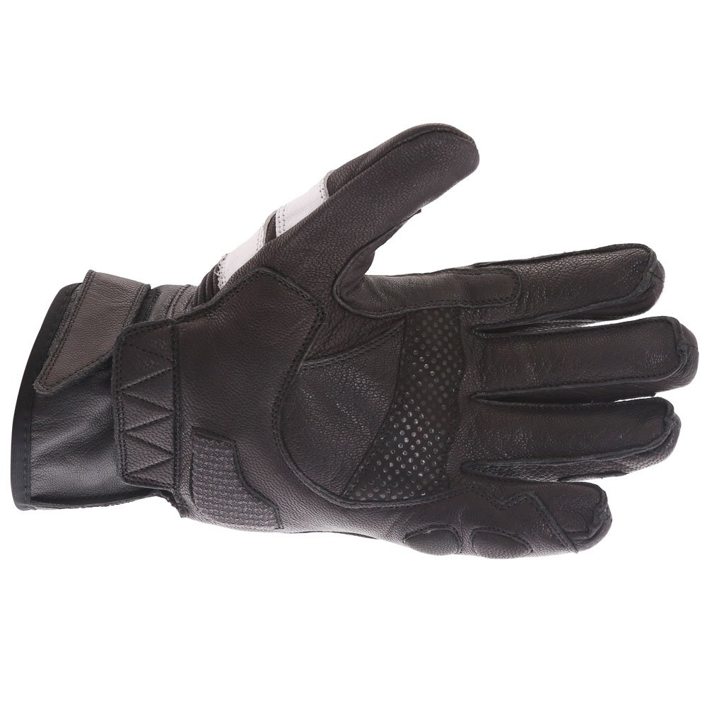 Frank Thomas A07-18 Street Black White Motorcycle Gloves Palm