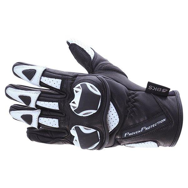 103 Circuit Gloves Black White