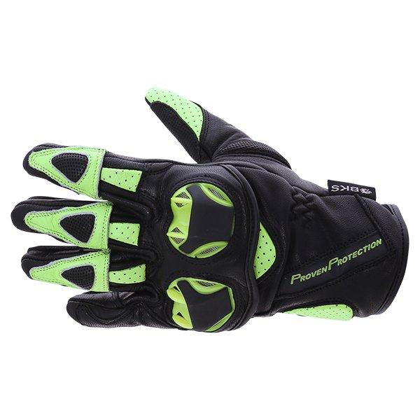 103 Circuit Gloves Black Yellow Fluo