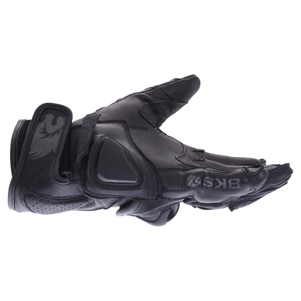 BKS 103 Circuit Black Motorcycle Gloves Little finger side