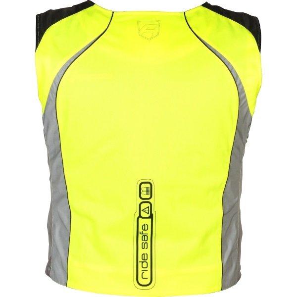 Akito Neon Ride Safe Vest Back
