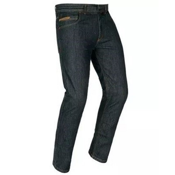 Akito District Midnight Blue Denim Motorcycle Jeans Front Right