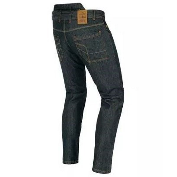 Akito District Midnight Blue Denim Motorcycle Jeans Rear Right