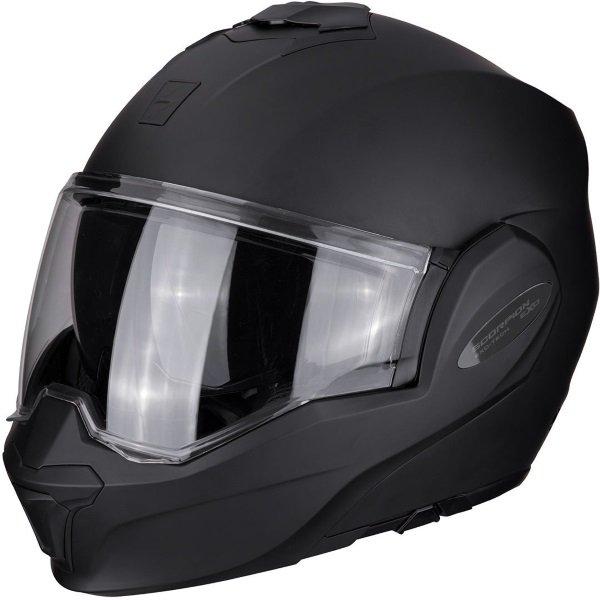 Exo-Tech Helmet Matt Black Scorpion Helmets