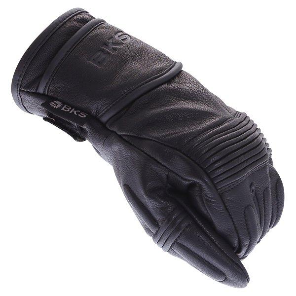 BKS 102 Bobber Ladies Black Motorcycle Gloves Knuckle