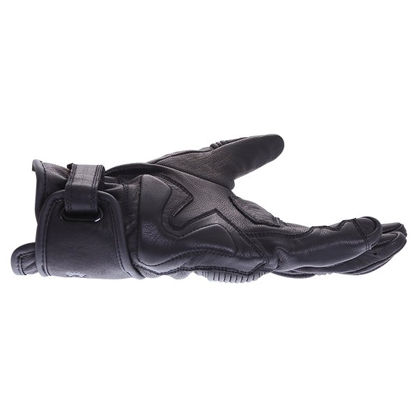 BKS 102 Bobber Ladies Black Motorcycle Gloves Little finger side