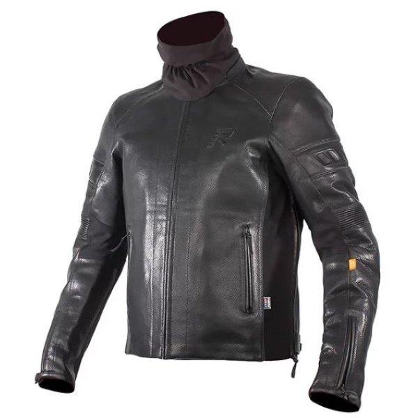 Coriace-R Leather Jacket Black Rukka Clothing