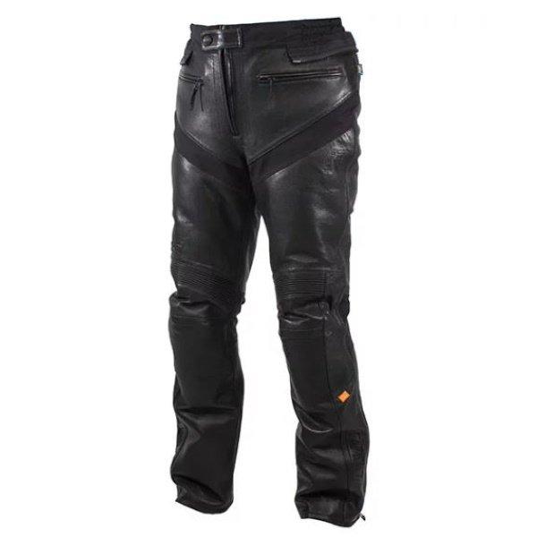 Coriace-R Leather Pants Black Rukka Clothing