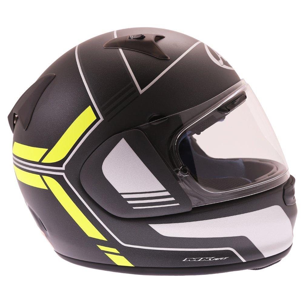 Arai Profile V Tube Helmet Flo Yellow Size: XS