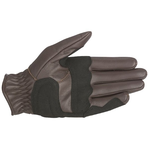 Alpinestars Rayburn Brown Motorcycle Gloves Palm