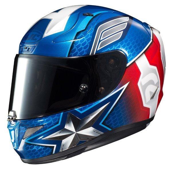 Rpha 11 Captain America Helmet Blue