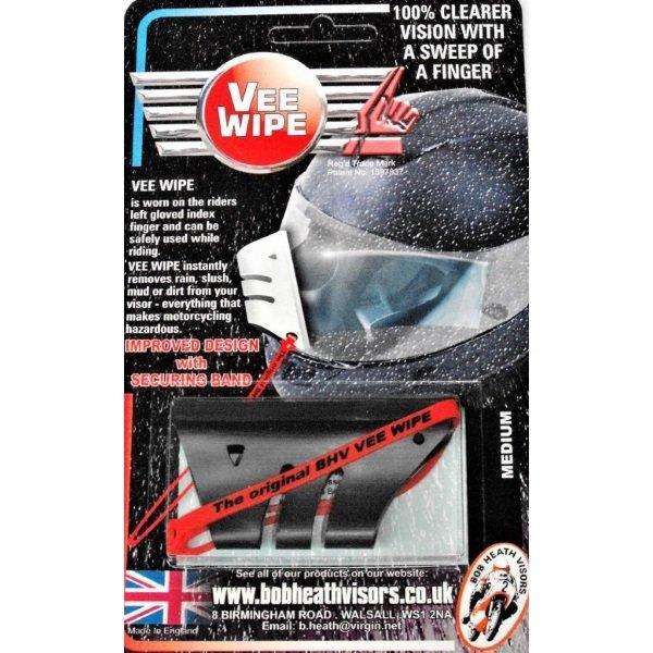 Bob Heath Medium Black Vee Wipes