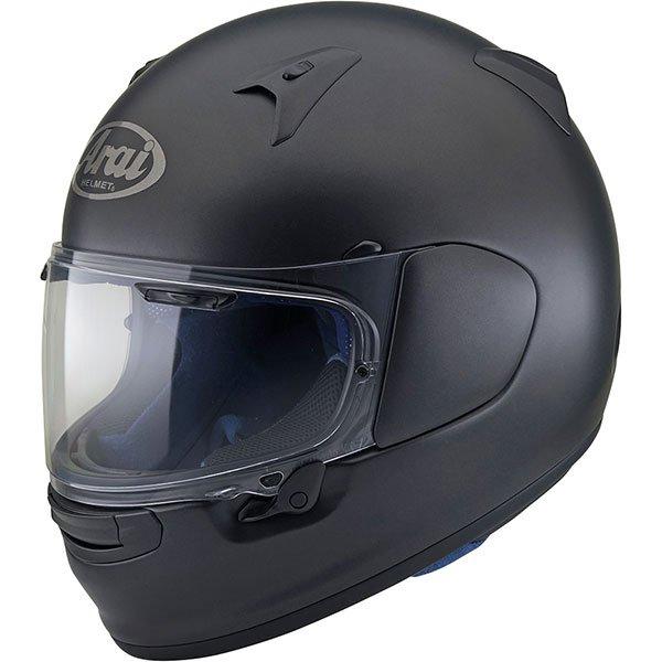 Arai Profile V Frost Black Full Face Motorcycle Helmet Front Left