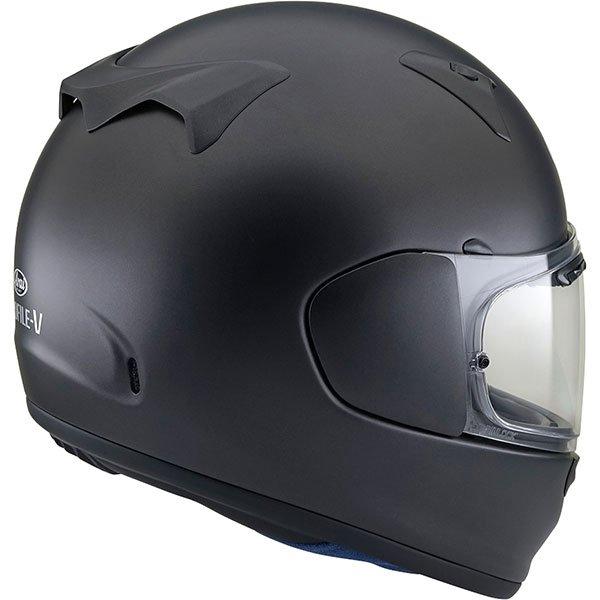 Arai Profile V Frost Black Full Face Motorcycle Helmet Back Right