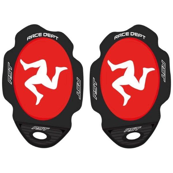 Flag Series Knee Sliders Manx Red Knee Sliders