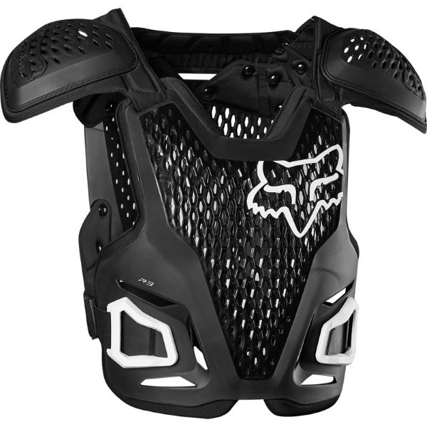 Fox R3 Black MX Body Armour