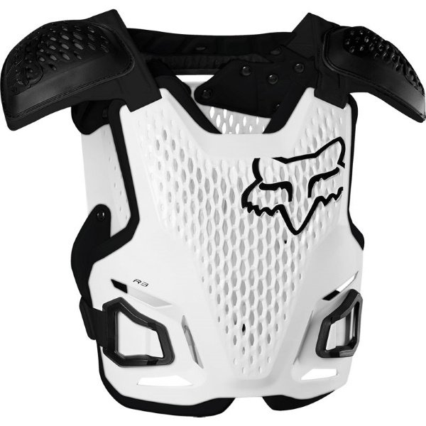 Fox R3 White MX Body Armour