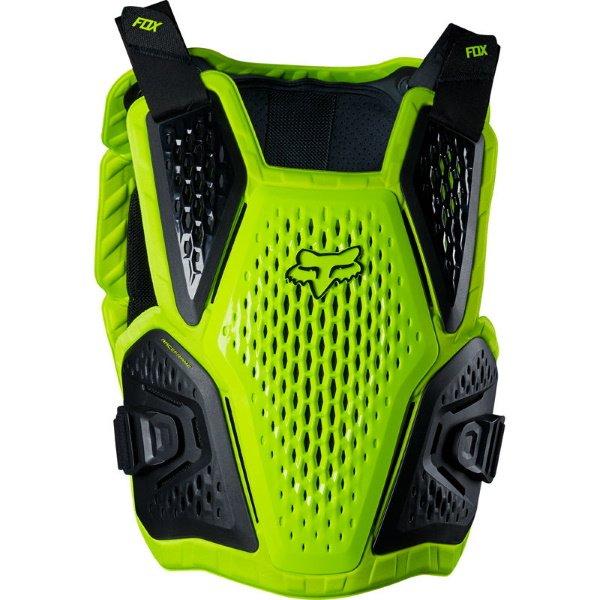 Fox Raceframe Impact CE Flo Yellow MX Body Armour