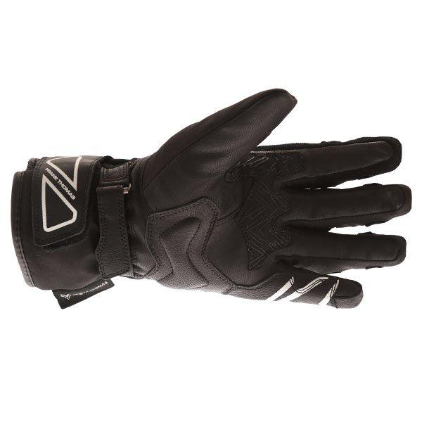 Frank Thomas FT-51 Winter Ladies Black Motorcycle Gloves Palm