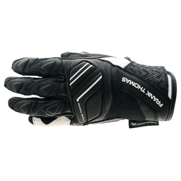 FT-53 Ladies Gloves Black White Ladies Motorcycle Clothing, Boots And Gloves