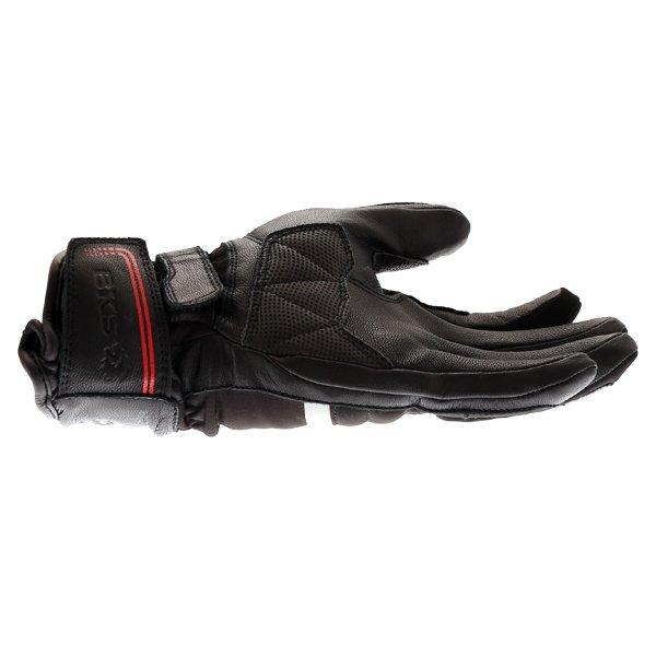 BKS BKS-106 Ladies Black Waterproof Motorcycle Gloves Little Finger Side