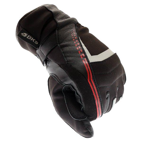 BKS BKS-106 Ladies Black Waterproof Motorcycle Gloves Knuckle