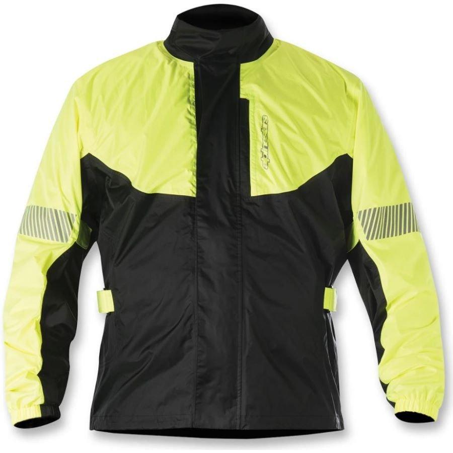 Alpinestars Hurricane Rain Jacket Yellow Fluo Black Yellow Fluo Black