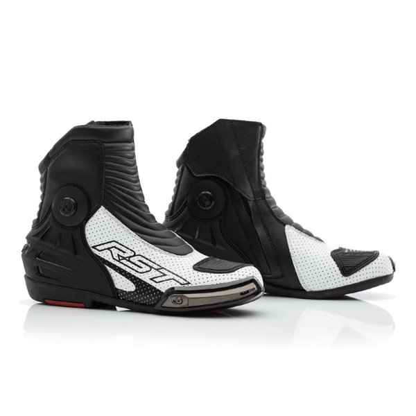 Tractech Evo III Short Boots White Boots