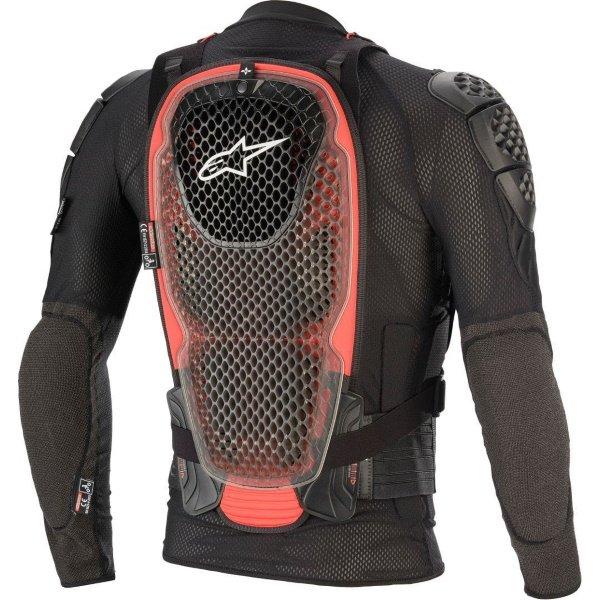 Alpinestars Bionic Tech V2 Black Red Jacket Back