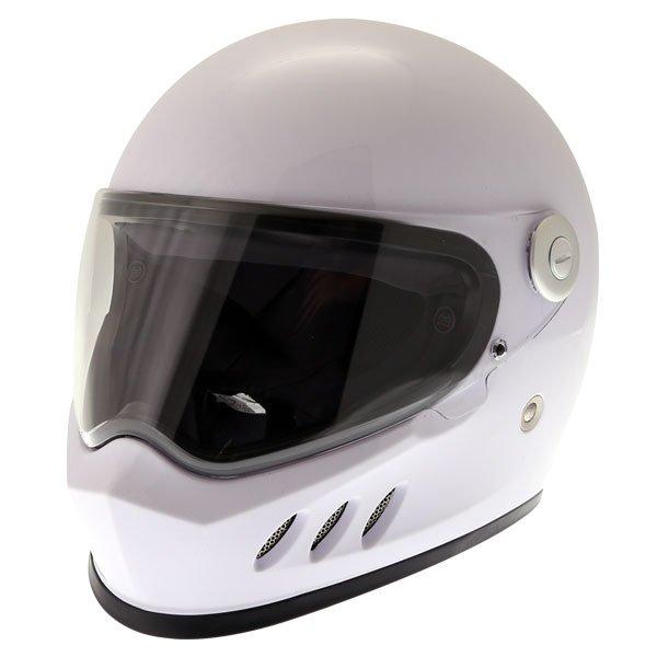 FT833 Predator Helmet White Motorcycle Helmets