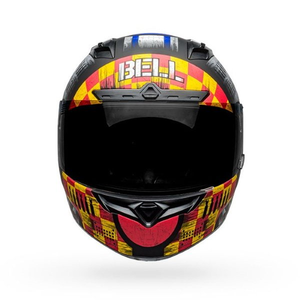 Bell Qualifier DLX Mips Devil May Care Full Face Motorcycle Helmet Front