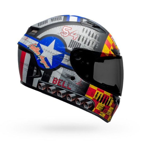 Bell Qualifier DLX Mips Devil May Care Full Face Motorcycle Helmet Right Side