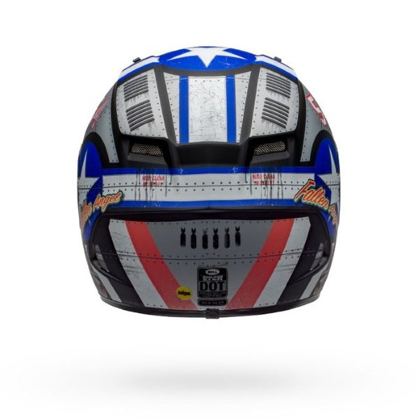 Bell Qualifier DLX Mips Devil May Care Full Face Motorcycle Helmet Back