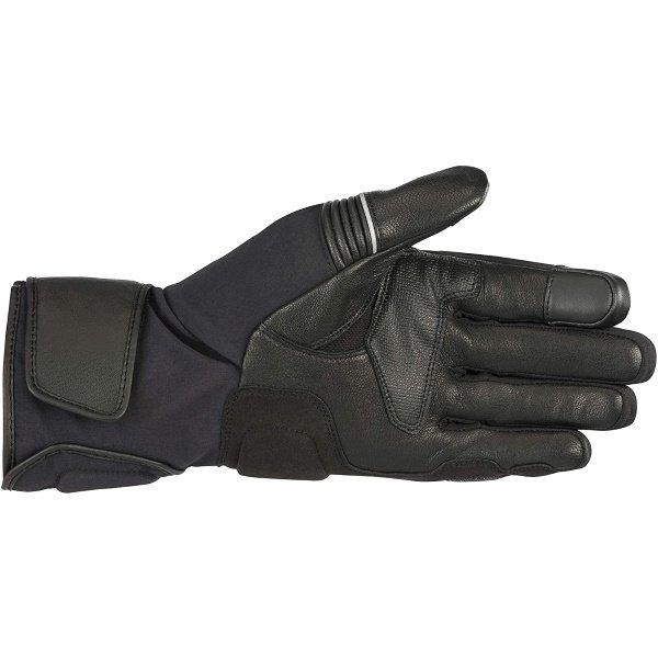 Alpinestars Jet Road V2 GoreTex Black Motorcycle Gloves Palm