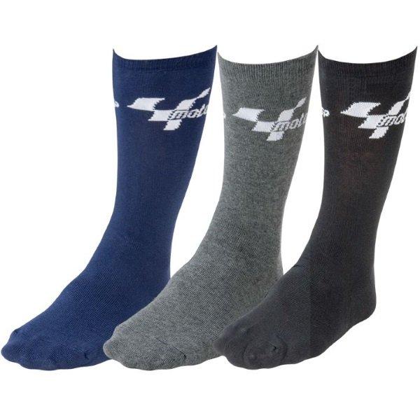 Everyday Socks 3 Pr Multipack Black Blue Grey Socks